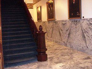 Nevada State Capitol, Interior.